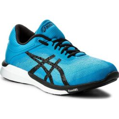 Buty ASICS - FuzeX Rush T718N Aqua Splash/Black/Diva Blue 6790. Niebieskie buty do biegania męskie Asics, z materiału, asics fuzex. W wyprzedaży za 319,00 zł.