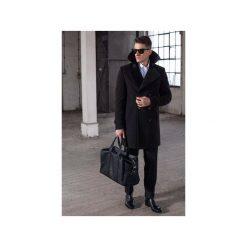 PŁASZCZ FALCON. Czarne płaszcze zimowe męskie marki Guns&tuxedos, m. Za 1199,99 zł.