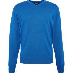 Mc Earl - Sweter męski, niebieski. Niebieskie swetry klasyczne męskie Mc Earl, m, z bawełny. Za 129,95 zł.