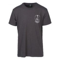 Rip Curl T-Shirt Męski Lazy Skull L Ciemnoszary. Niebieskie t-shirty męskie marki Oakley, na lato, z bawełny, eleganckie. Za 134,00 zł.