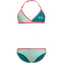 O'Neill CROSS TOP  Bikini brook green. Czerwone bikini marki O'Neill, z materiału, narciarskie. Za 129,00 zł.