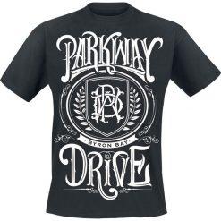 Parkway Drive Crest T-Shirt czarny. Czarne t-shirty męskie z nadrukiem Parkway Drive, m. Za 74,90 zł.