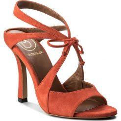 Rzymianki damskie: Sandały BALDOWSKI – D02240-7137-001 Zamsz Czerwony