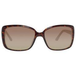 Guess Damskie Okulary Przeciwsłoneczne, Szylkret. Szare okulary przeciwsłoneczne damskie lenonki marki Guess, prostokątne. Za 235,00 zł.