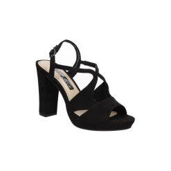 Sandały Tamaris  SANDAŁY  1-28386-36. Szare sandały damskie marki Tamaris, z materiału. Za 139,99 zł.