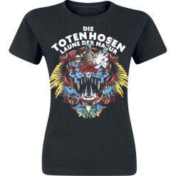 Die Toten Hosen Laune der Natur Koszulka damska czarny. Czarne bluzki asymetryczne Die Toten Hosen, s, z nadrukiem, z okrągłym kołnierzem. Za 62,90 zł.