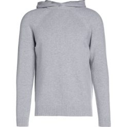 Swetry klasyczne męskie: Falke Sweter light grey