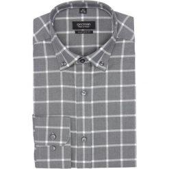Koszula bexley f2693 długi rękaw custom fit szary. Szare koszule męskie marki Recman, m, z długim rękawem. Za 139,00 zł.
