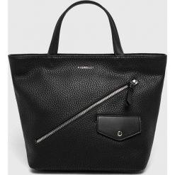 Fiorelli - Torebka. Czarne torebki klasyczne damskie marki Fiorelli, z materiału, średnie. Za 299,90 zł.