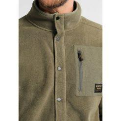 Burton HEARTH  Kurtka z polaru olive night. Zielone kurtki sportowe męskie Burton, m, z materiału. W wyprzedaży za 407,20 zł.
