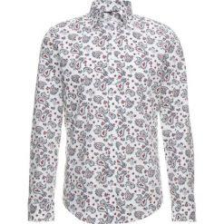 Seidensticker COVERED BUTTON DOWN Koszula white/red. Białe koszule męskie Seidensticker, m, z bawełny, button down. Za 349,00 zł.