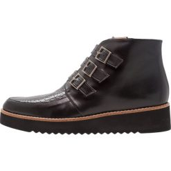 Brenda Zaro AMANDA Ankle boot black/yango black. Czarne botki damskie skórzane Brenda Zaro. Za 619,00 zł.