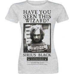 Bluzki asymetryczne: Harry Potter Sirius Wanted Koszulka damska odcienie jasnoszarego