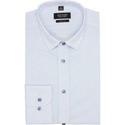 Koszula versone 2697 długi rękaw slim fit biały. Białe koszule męskie slim Recman, m, z długim rękawem. Za 139,00 zł.