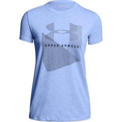 Under Armour Koszulka damska Sportstle Mesh Logo Crew niebieska r. L (1310488-587). Niebieskie bluzki damskie marki Under Armour, l, z meshu. Za 68,64 zł.