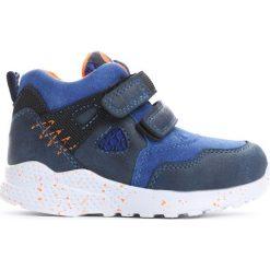 Niebieskie Buty Sportowe Milion Bicycles. Niebieskie buty sportowe chłopięce marki Born2be, z materiału, z okrągłym noskiem, na płaskiej podeszwie. Za 69,99 zł.