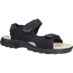 Czarne sandały na rzepy Casu GT136009. Czarne sandały męskie Casu, na rzepy. Za 59,99 zł.