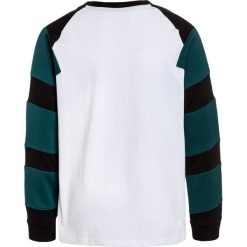 Adidas Originals Bluzka z długim rękawem white/black/mystery green. Czerwone bluzki dziewczęce bawełniane marki adidas Originals. Za 159,00 zł.