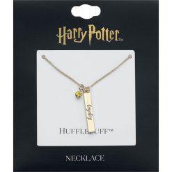 Naszyjniki damskie: Harry Potter Hufflepuff Naszyjnik złoty