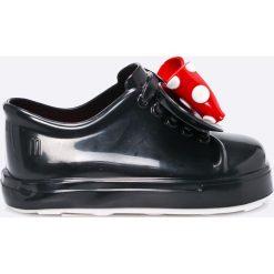 Melissa - Tenisówki Minnie. Czarne buty sportowe dziewczęce Melissa, z kauczuku. W wyprzedaży za 239,90 zł.
