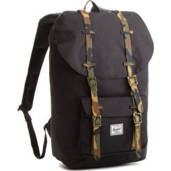 Plecaki męskie: Plecak HERSCHEL – Lil Amer 10014-01869  Black/Woodland Camo Rubber