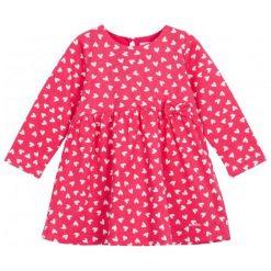 Sukienki niemowlęce: Dżersejowa sukienka z wysoką talią dla niemowlaka