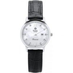 Royal London 11110-01 Zegarek  Damska Z Diamentami. Szare zegarki damskie Royal London. W wyprzedaży za 466,00 zł.