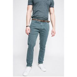 Medicine - Spodnie Basic. Szare rurki męskie marki MEDICINE, w paski, z bawełny. W wyprzedaży za 59,90 zł.