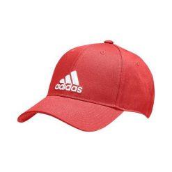 Czapki męskie: Adidas Czapka z daszkiem męska 6P Cap Cotton czerwona r.  OSFM