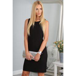Sukienka Czarna 9932. Czarne sukienki marki Fasardi. Za 69,00 zł.