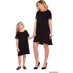 Sukienki dziewczęce: Sukienka dziewczęca mama i córka LD12/4