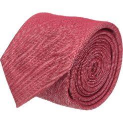 Krawat cotton czerwony classic 200. Czerwone krawaty męskie Recman, z bawełny, eleganckie. Za 59,00 zł.