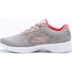 Skechers - Buty. Szare buty sportowe damskie Skechers, z materiału. W wyprzedaży za 219,90 zł.