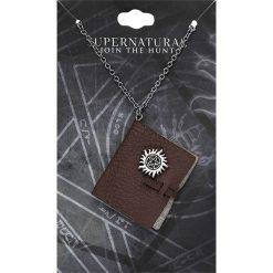 Supernatural Journal Naszyjnik srebrny. Szare naszyjniki damskie Supernatural, srebrne. Za 54,90 zł.