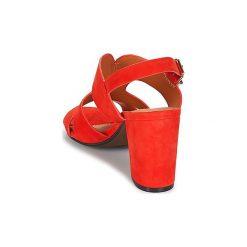 Klapki Bocage  PAULI. Czerwone crocsy damskie marki Bocage. Za 335,20 zł.
