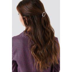 Ozdoby do włosów: NA-KD Accessories Owalna spinka do włosów – Silver