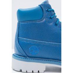Timberland 6IN PREMIUM  Botki sznurowane mykonos blue. Niebieskie botki damskie skórzane marki Timberland. W wyprzedaży za 407,20 zł.