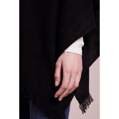 Poncza: Repeat PLAIN PONCHO Ponczo black