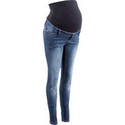 """Dżinsy ciążowe SKINNY bonprix niebieski """"stone"""". Niebieskie jeansy damskie marki House, z jeansu. Za 139,99 zł."""