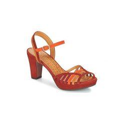 Sandały Chie Mihara  EMAI. Czerwone sandały trekkingowe damskie Chie Mihara. Za 975,20 zł.