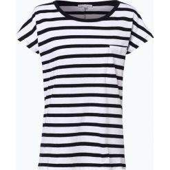 Marie Lund - T-shirt damski, czarny. Czarne t-shirty damskie Marie Lund, xl, w paski, z bawełny. Za 39,95 zł.