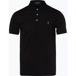 Polo Ralph Lauren - Męska koszulka polo, czarny. Czarne koszulki polo Polo Ralph Lauren, m, z dżerseju. Za 499,95 zł.