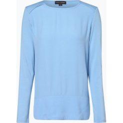 Franco Callegari - Damska koszulka z długim rękawem, niebieski. Zielone t-shirty damskie marki Franco Callegari, z napisami. Za 129,95 zł.