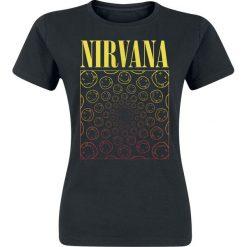 Nirvana Spiral Smiley Koszulka damska czarny. Czarne bluzki asymetryczne Nirvana, m. Za 74,90 zł.
