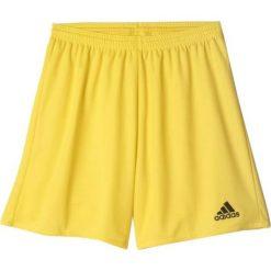 Bermudy męskie: Adidas Spodenki męskie Parma 16 żółte r. XL (AJ5885)