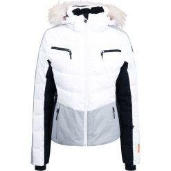 Icepeak CATHY Kurtka narciarska optic white. Białe bomberki damskie Icepeak, z materiału, narciarskie. W wyprzedaży za 575,20 zł.