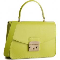 Torebka FURLA - Metropolis 962604 B BLE8 Ranuncolo e. Zielone torebki klasyczne damskie Furla, ze skóry. W wyprzedaży za 1029,00 zł.