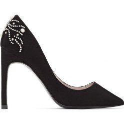 Buty ślubne damskie: Zdobione czółenka