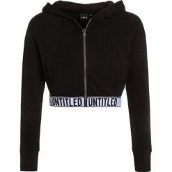 LMTD NLFOLGA SHORT CARD HOOD Bluza rozpinana black. Czarne bluzy chłopięce rozpinane LMTD, z bawełny. Za 139,00 zł.