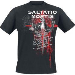 T-shirty męskie z nadrukiem: Saltatio Mortis Griffin Trash Polka T-Shirt czarny